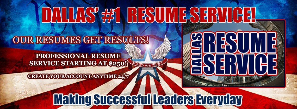 Home - Dallas Resume Service... IMPRESSING EMPLOYERS SINCE 1997!